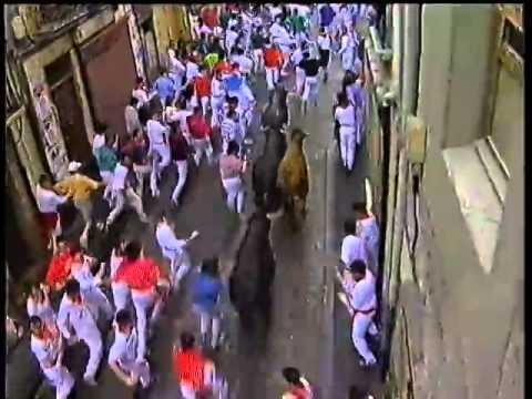 Encierro San Fermín   9 de julio de 1992 480p