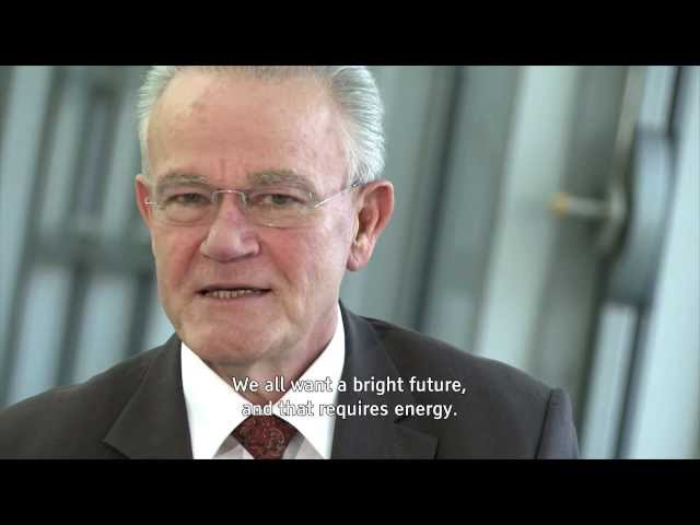 "Start Video:  ""The swith to renewable energy is a difficult challenge - but it is worth the effort."""