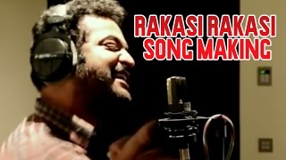 Jr NTR Singing Raakasi Raakasi Song - Making of Rabhasa