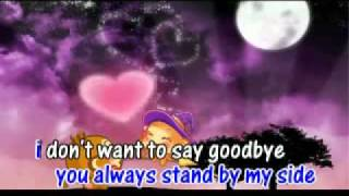 A Little Love - karaoke ( only singer )