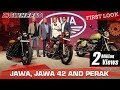 Jawa, Jawa 42 and Jawa Perak (Bobber) | First Look | ZigWheels.com