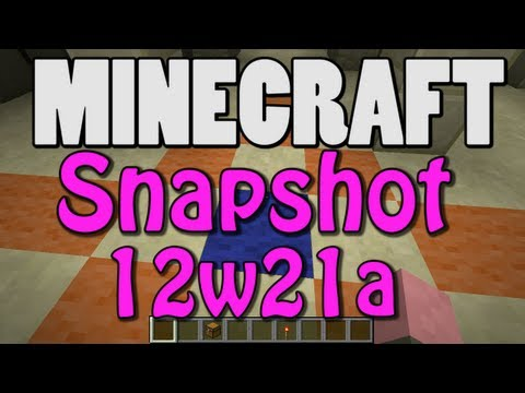 Minecraft Snapshot 12w21a (EMERALDS! ENDERCHESTS! TRADING!)
