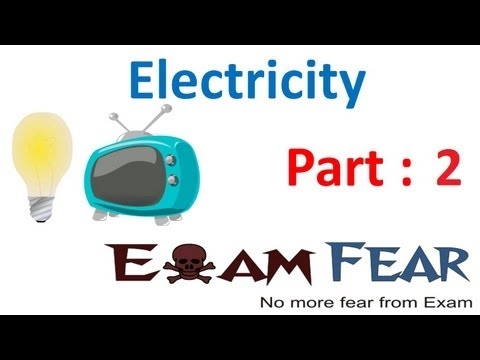 Physics Electricity part 2 (Electric Potential difference) CBSE class 10 X