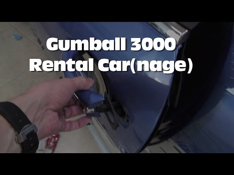 The Rental Cars of Gumball 3000 (aftermath)