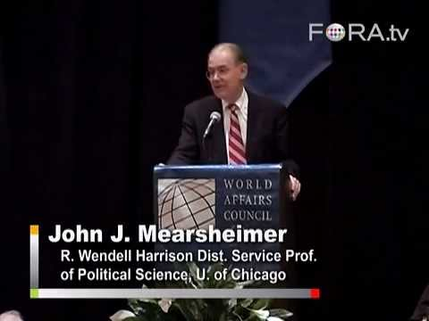 L'Irak, les Néocons et le Lobby pro-Israël -- John Mearsheimer