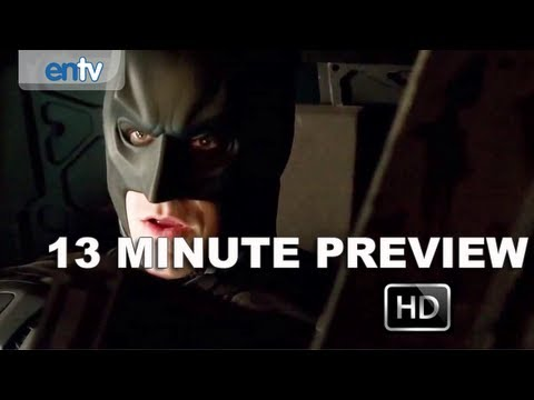 "The Dark Knight Rises ""13 Minute Preview"" [HD]: Chrisopher Nolan, Christian Bale & More"