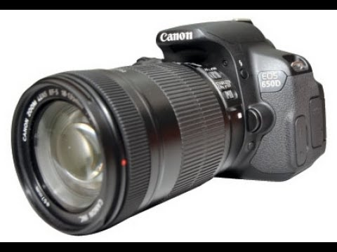 Canon EOS 650D   18-135mm STM Lens Kit - Unbox & Overview