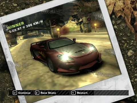 Need for Speed Most Wanted World Loop 5.08.87 with carrera GT with NOS