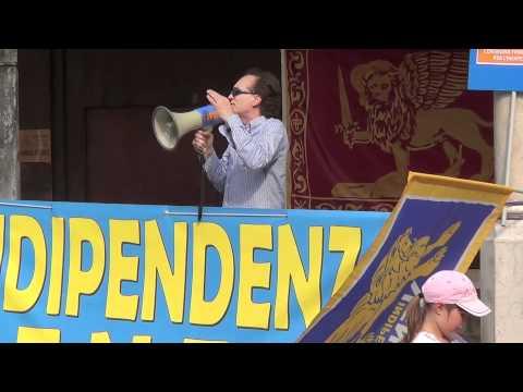 Grande evento per l'Indipendenza Veneta: interventi di Alessio Morosin