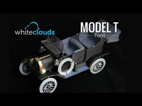 The 1913 Model T Ford 3D Printed by WhiteClouds