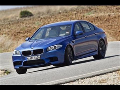 BMW M5 video review feature by autocar.co.uk