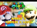 Super Mario Plush World 2 - Choose A Level