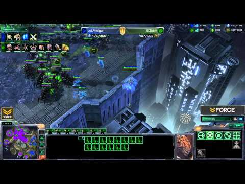 StarCraft 2 - IdrA [Z] vs Minigun [P] G2 - Commentary
