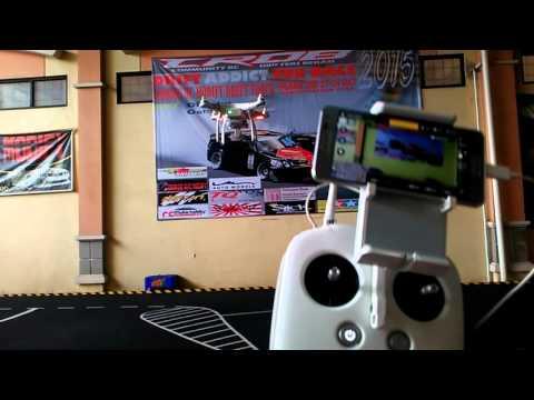 Tutorial - Auto take off and Landing DJI phantom 3 proffesional