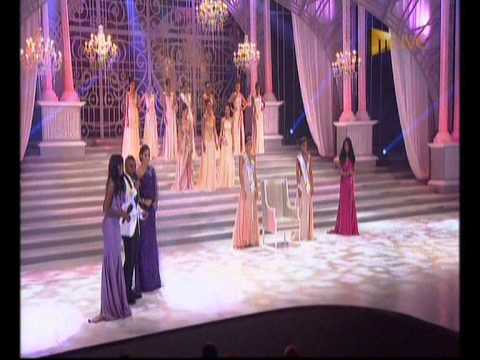 The crowning of Marilyn Ramos as Miss South Africa 2012