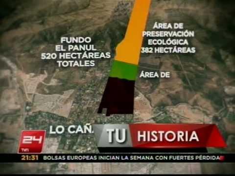 Polémica en comuna de La Florida por posible destrucción de bosque nativo - 24 HORAS TVN 2011