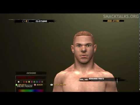 WWE '12 Amazing Red CAW Formula by Shattered! &amp; The D