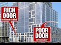 "Modern Day Segregation In-Progress In NYC ""New York City has approved a developer's Dickensian plan to include a ""poor door"" in a luxury apartment complex in the Upper West Side. The prospect of a separate entrance for lower-income... Category:  News"