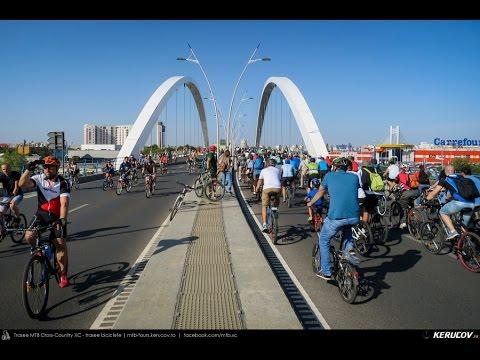 VIDEOCLIP Vrem un oras pentru oameni! - marsul biciclistilor, Bucuresti, 19 septembrie 2015 [VIDEO]