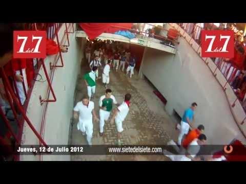 Encierro 12 de Julio 2012 - Victoriano del Río (completo)
