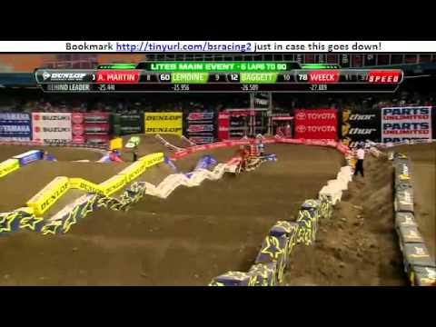 2012 Toronto Supercross 250 Lites Main event RD11 HD