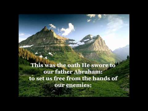 Canticle of Zechariah &quot;Benedictus - Hymn of Praise&quot; (a Morning Prayer)