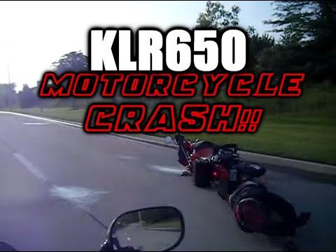 Motorcycle Crash! (KLR 650)