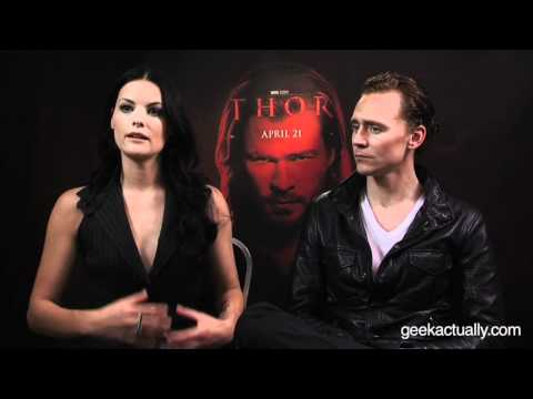 An Exclusive Interview with Thor Stars Jaimie Alexander & Tom Hiddleston