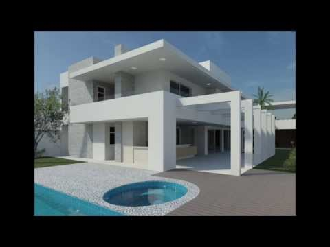 Revit Walkthrough - House