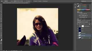 Efecto Vintage: Tutorial Photoshop CS6