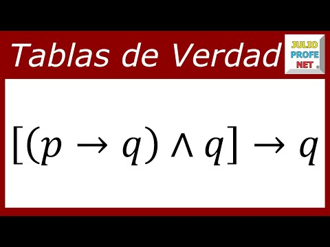 Construir tabla de verdad