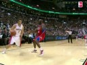 Andrea Bargnani Shakes Reggie Evans and Finishes With a Reverse Dunk