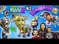 lets play plants vs. zombies garden warfare 2 #2: mom & kids play 1st time (fgteev beta gameplay)