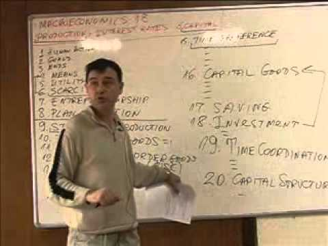Business Cycles, Part 0 of 4- Interest and Capital, Prof. Krassimir Petrov -pyO8sLWgLjE