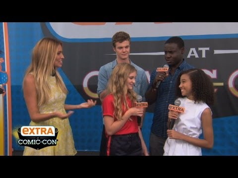 """The Hunger Games"" Stars React to Comic-Con 2012"