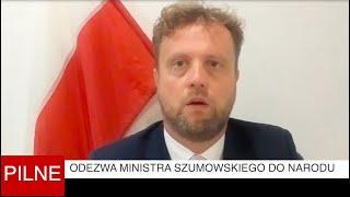 Czesuaf - Odezwa ministra Szumowskiego do narodu