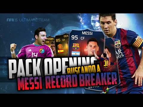 FIFA 15 | ULTIMATE TEAM | PACK OPENING BUSCANDO A MESSI RB | UN SIF IN A PACK