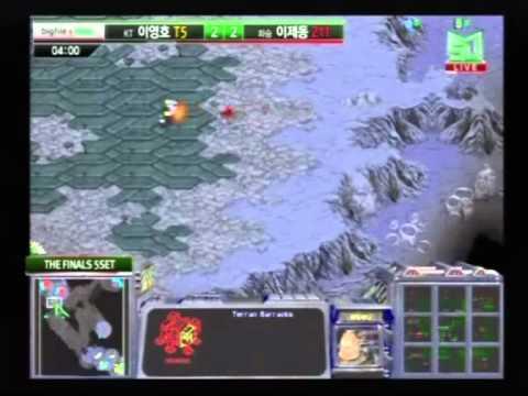 Bigfile MSL 2010 Grand Finals - Flash vs. Jaedong Set 5 [1/2]