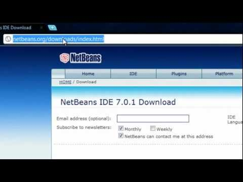 Java Tutorial 1: Install JDK 7, Netbeans 7, and Eclipse