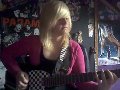 FUNHOUSE - PINK! Guitar Cover (loop pedal fun)