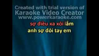 Anh sợ karaoke ( only beat )