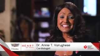 Heart of Texas American Heart Association in Dr. Annie Varughese