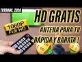 ✔ Cómo hacer ANTENA CASERA HD TV Digital   Tutorial muy fácil !