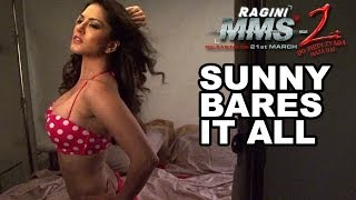 Sunny Leone bares it all for Ragini MMS-2 Photo shoot