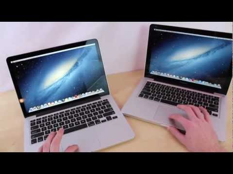 Macbook Pro 13&quot; Retina vs. Macbook Pro 13&quot; 2012 Comparison | Apple MBP 13 in 15 inches