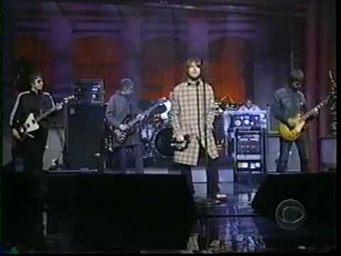 Oasis - I Can See A Liar (Live On David Letterman Show 2000)