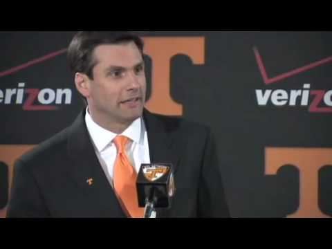 Introducing UT's new head coach Derek Dooley