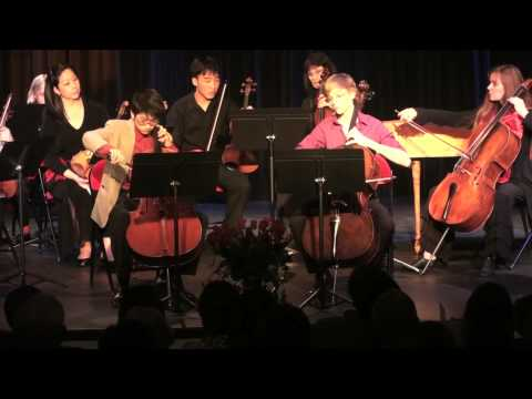 Vivaldi Double Cello Concerto by Nathan Chan and Coleman Itzkoff