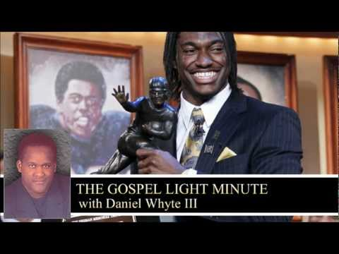 Robert Griffin III (Gospel Light Minute #51)