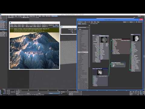 Octane Render for LightWave: Displacement - Part 2